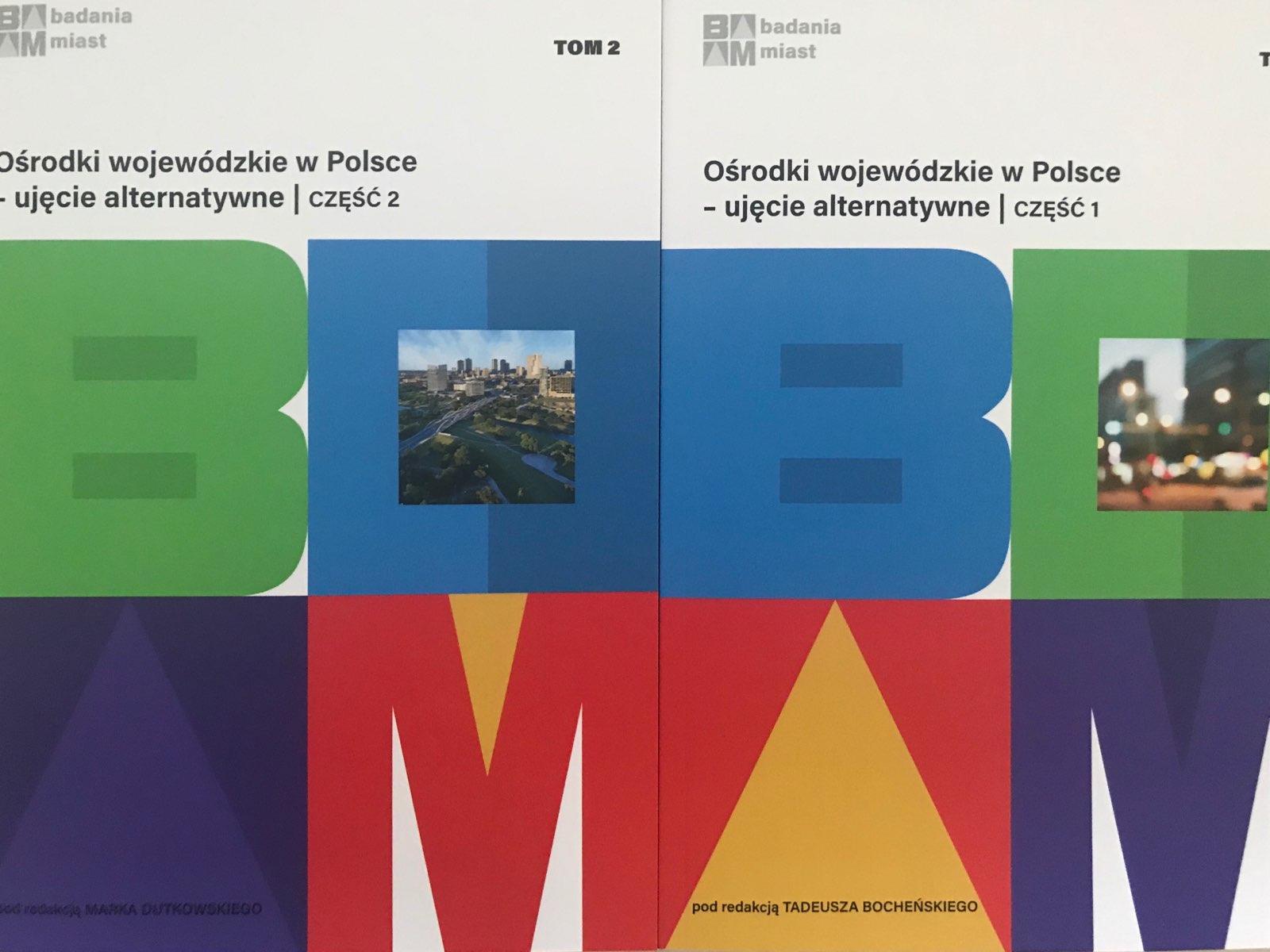 """Nowe książki w serii """"Badania Miast"""""""